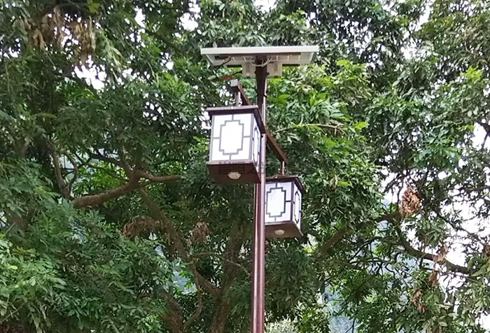 太阳能庭院灯8