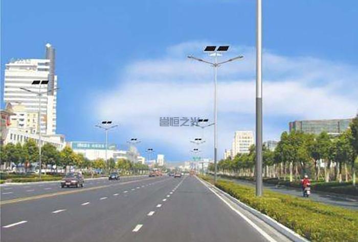 3-12米太阳能灯杆3