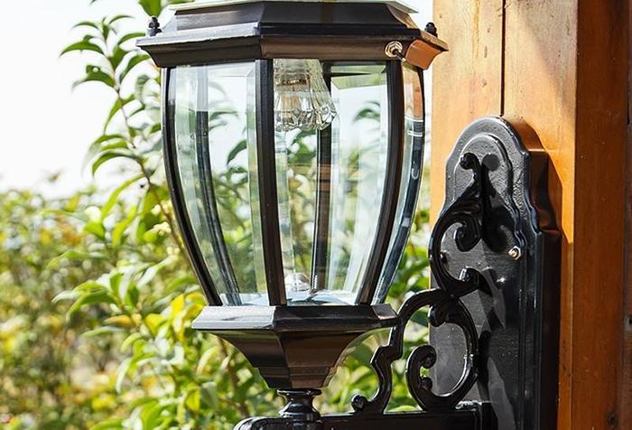 太阳板壁灯2