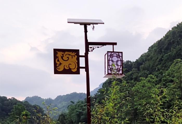 太阳能庭院灯5